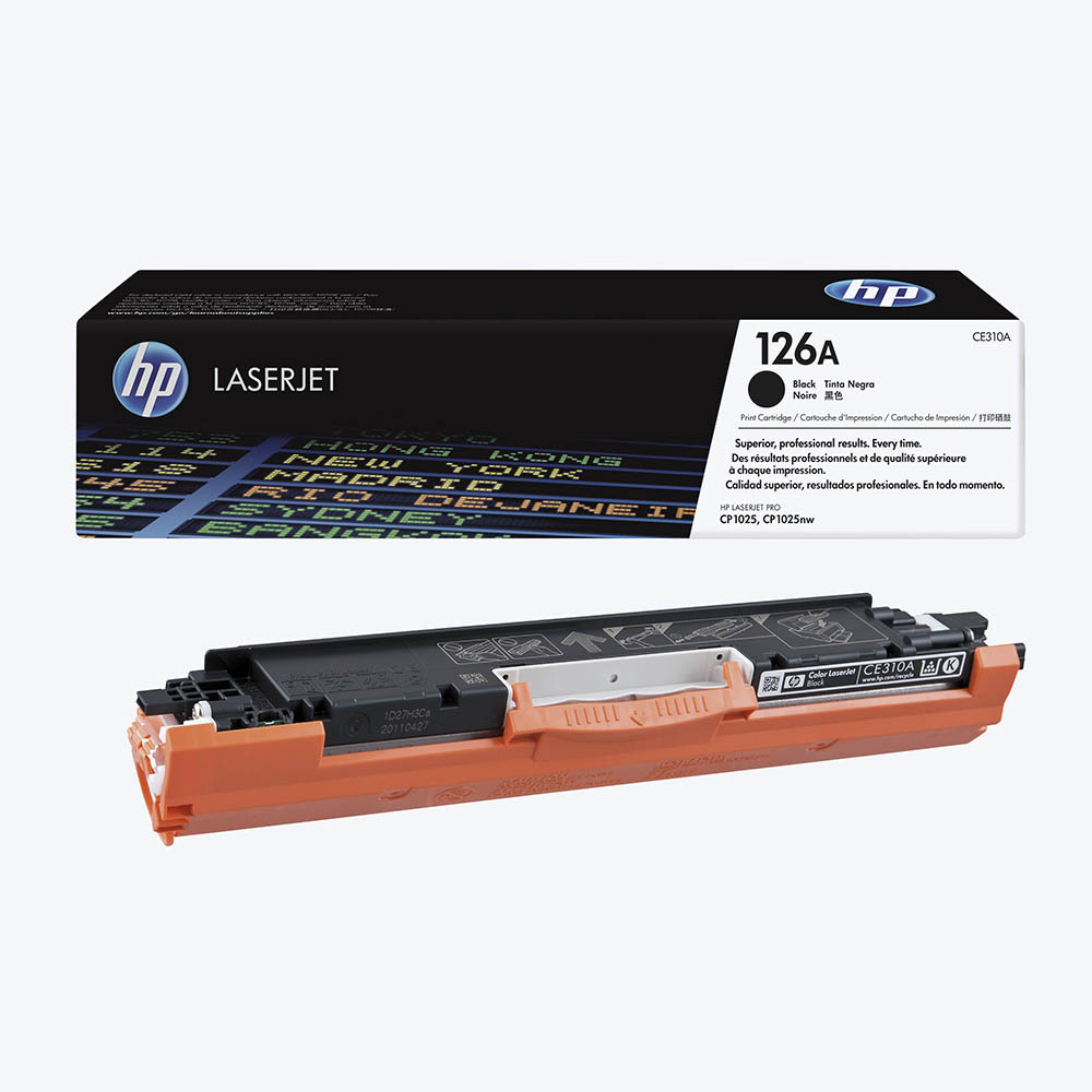 HP126A - HP CE310A Black Image