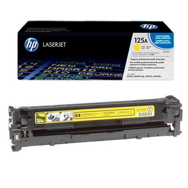 HP125A - HP CB542A yellow Image